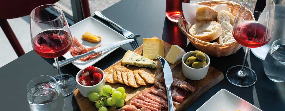Winemakers platter - Alder vineyard