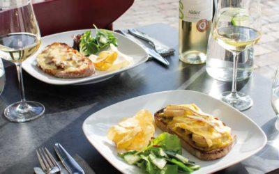 Open sandwiches - Alder Vineyard